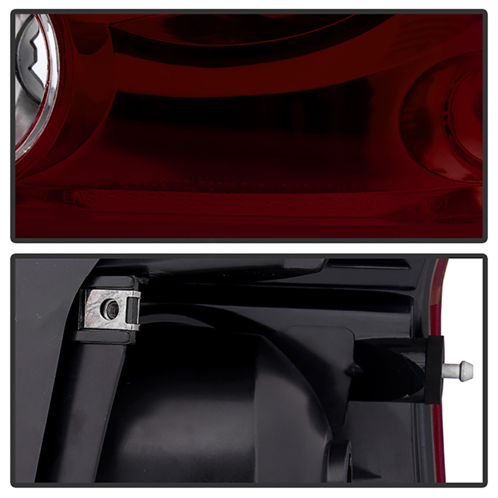 2004-2008 Chrysler Pacifica Smokey Red OE Style Tail Brake