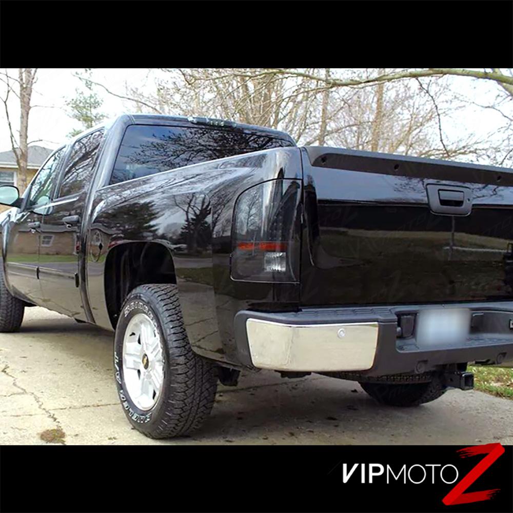 [SINISTER BLACK] 2007-2014 Chevy Silverado GMT Black Smoke