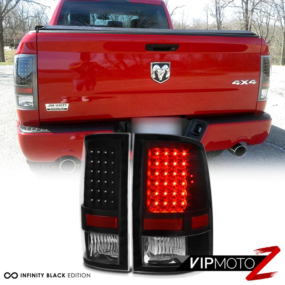 """2009-2017 Dodge Ram 1500 2500 3500 """"MURDER OUT"""" LED Black"""