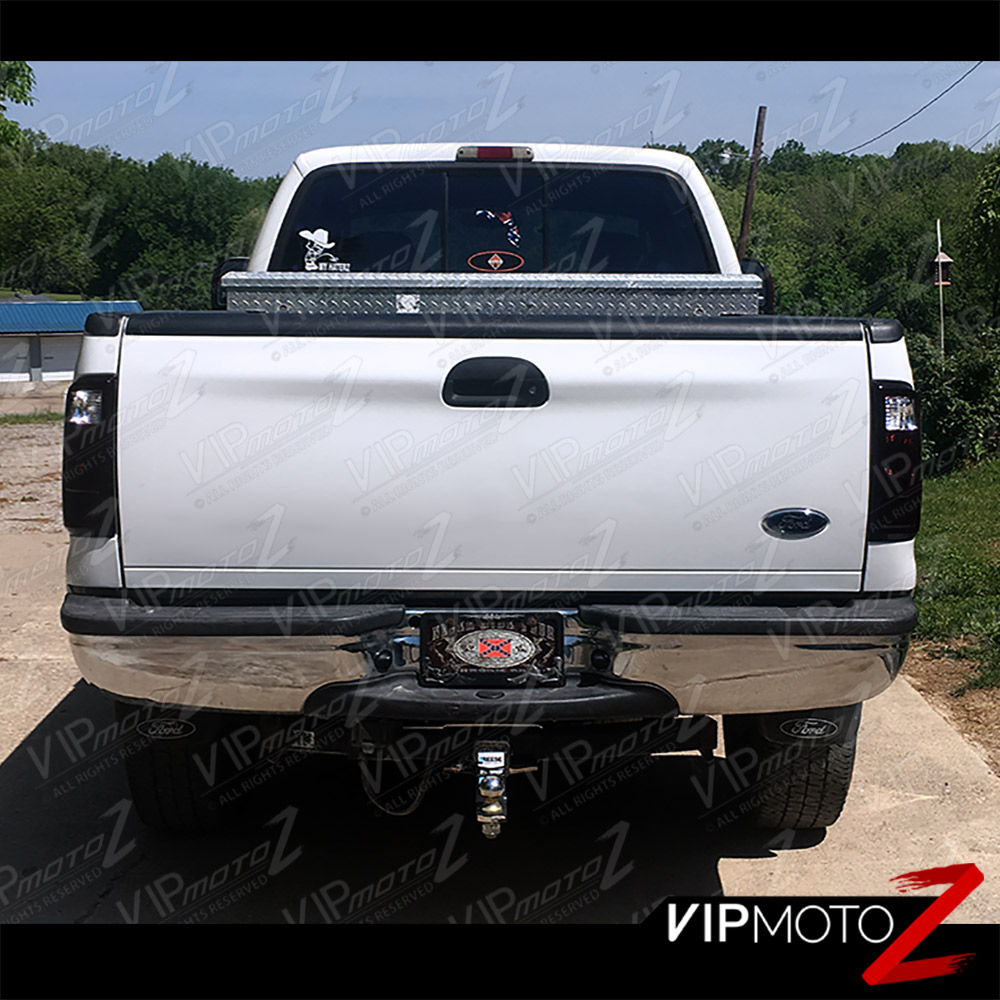 08-16 Ford F250 F350 F450 SuperDuty SD Dark Smoke Red Tail