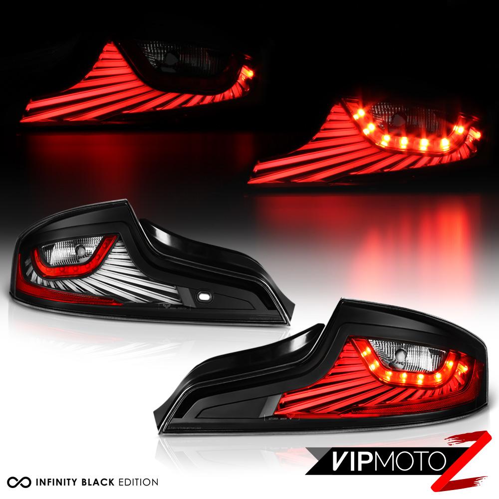 For 2006-2007 Infiniti G35 Coupe LED Light Bar Black