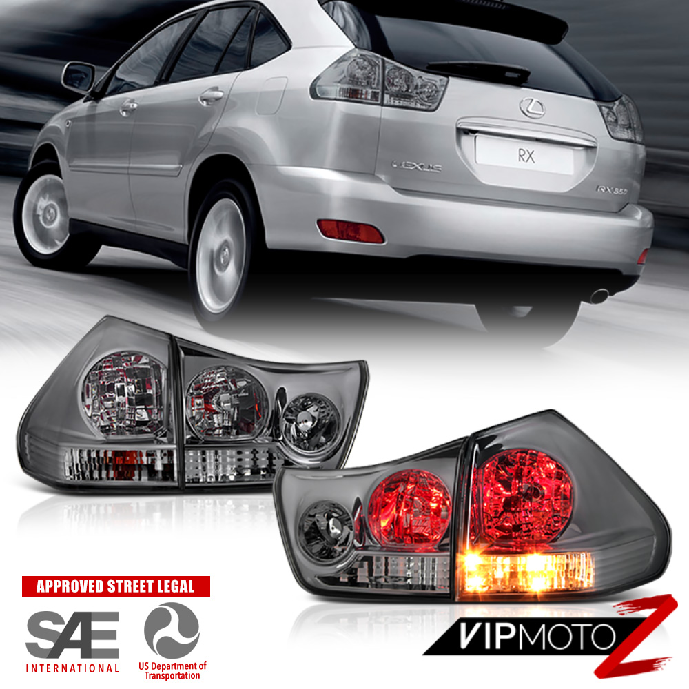 Lexus 2005 Rx330: 2004 2005 2006 Lexus RX330 RX-330 Black DRL LED SMD