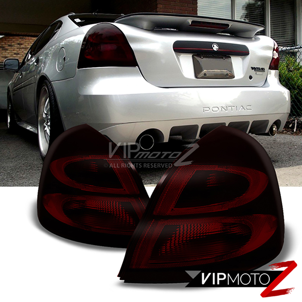 Pontiac 2005 pontiac grand prix gxp : 04-08 Pontiac Grand Prix GXP GTP [Dark Smoked Red] Tail Lamps ...