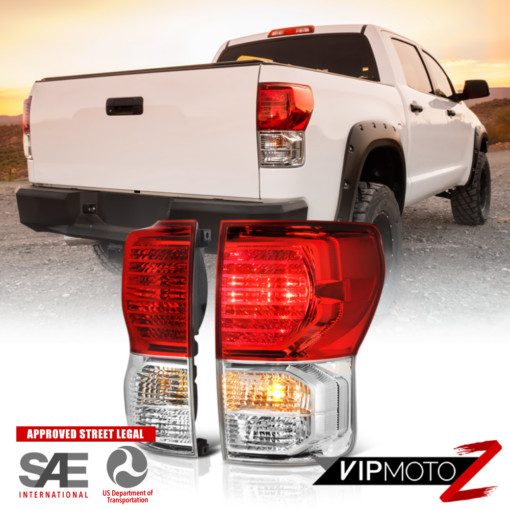 """2007-2013 Toyota Tundra """"2010+ TRD STYLE"""" Rear Tail Lights"""