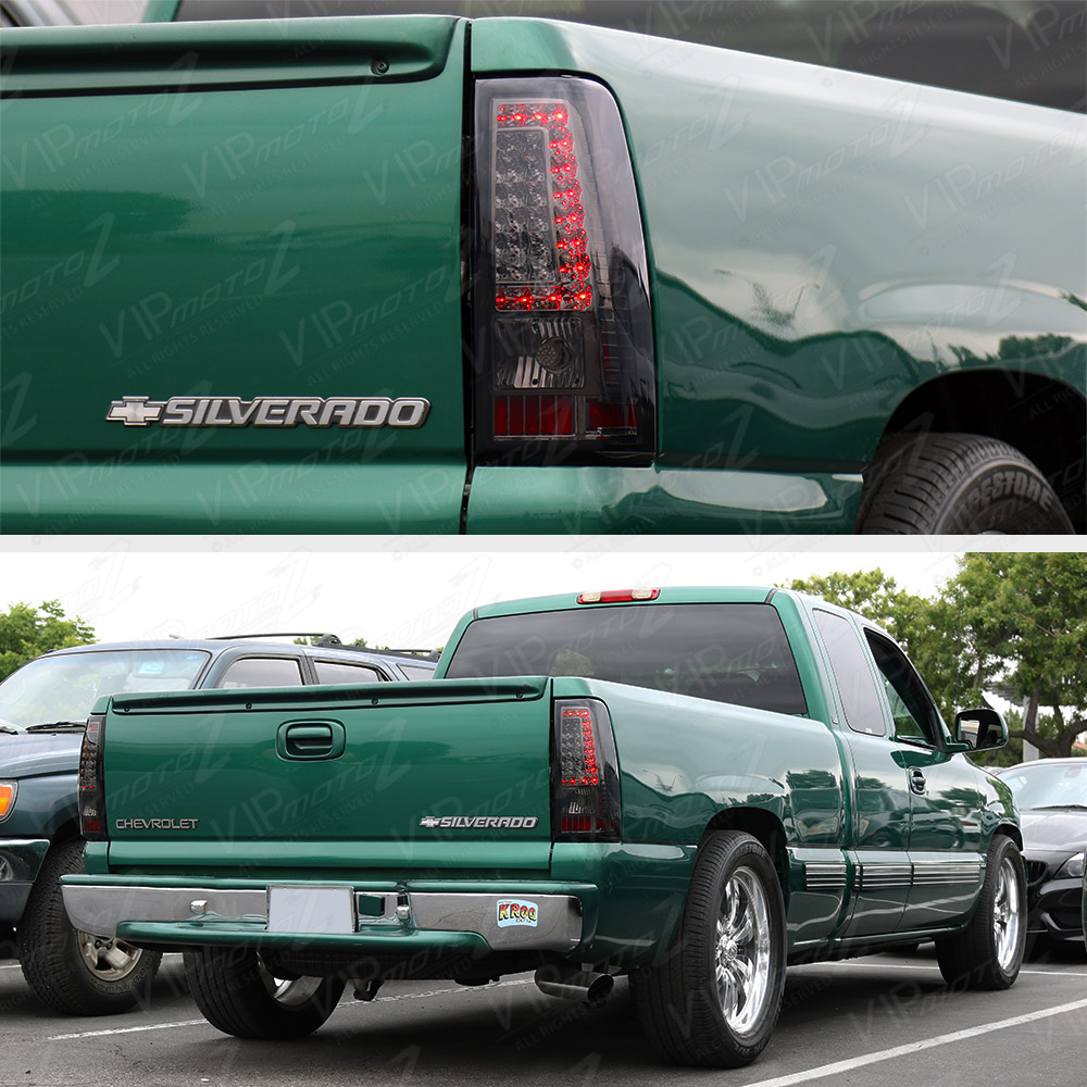 "1999 Chevrolet 1500 Extended Cab Camshaft: 2003-2006 Chevy Silverado PickUp ""SMOKE"" Rear LED Tail"