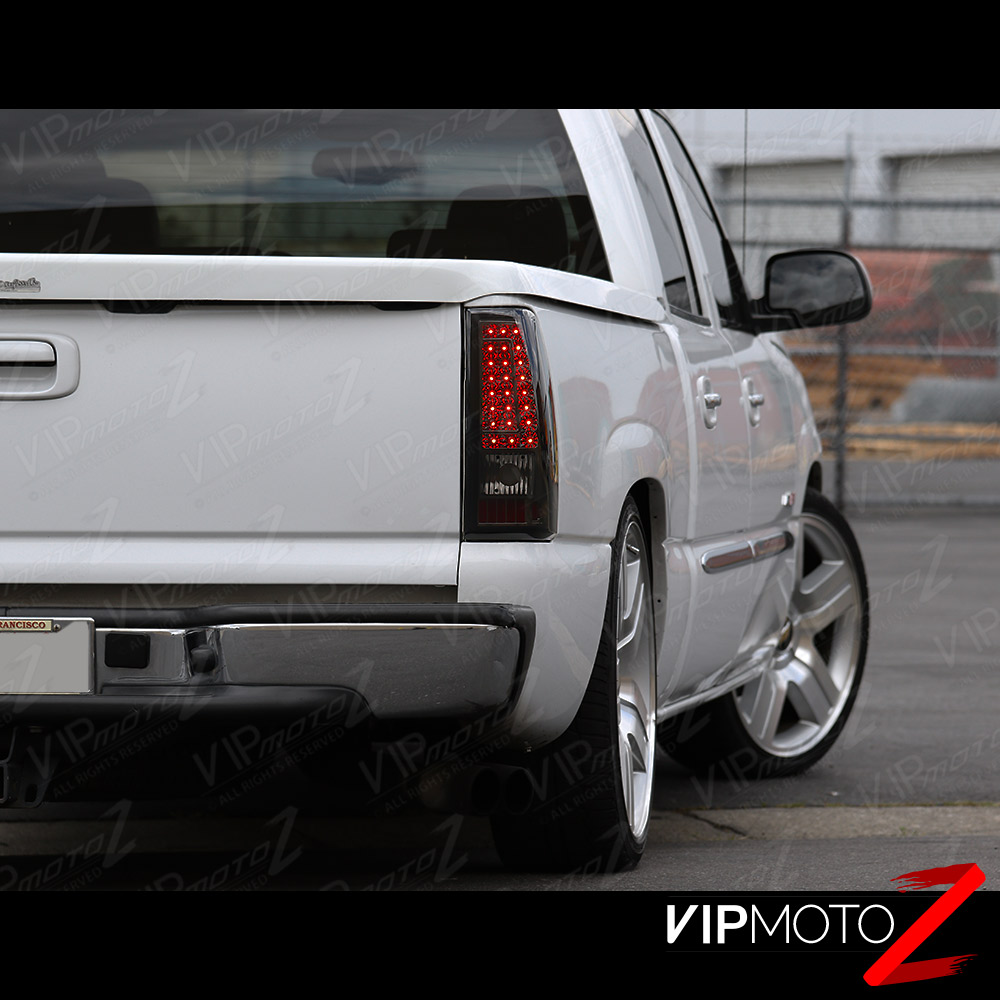 "1999 Chevrolet 1500 Extended Cab Camshaft: 1999-2002 Chevrolet Silverado ""SMOKED"" LED SMD Rear Brake"