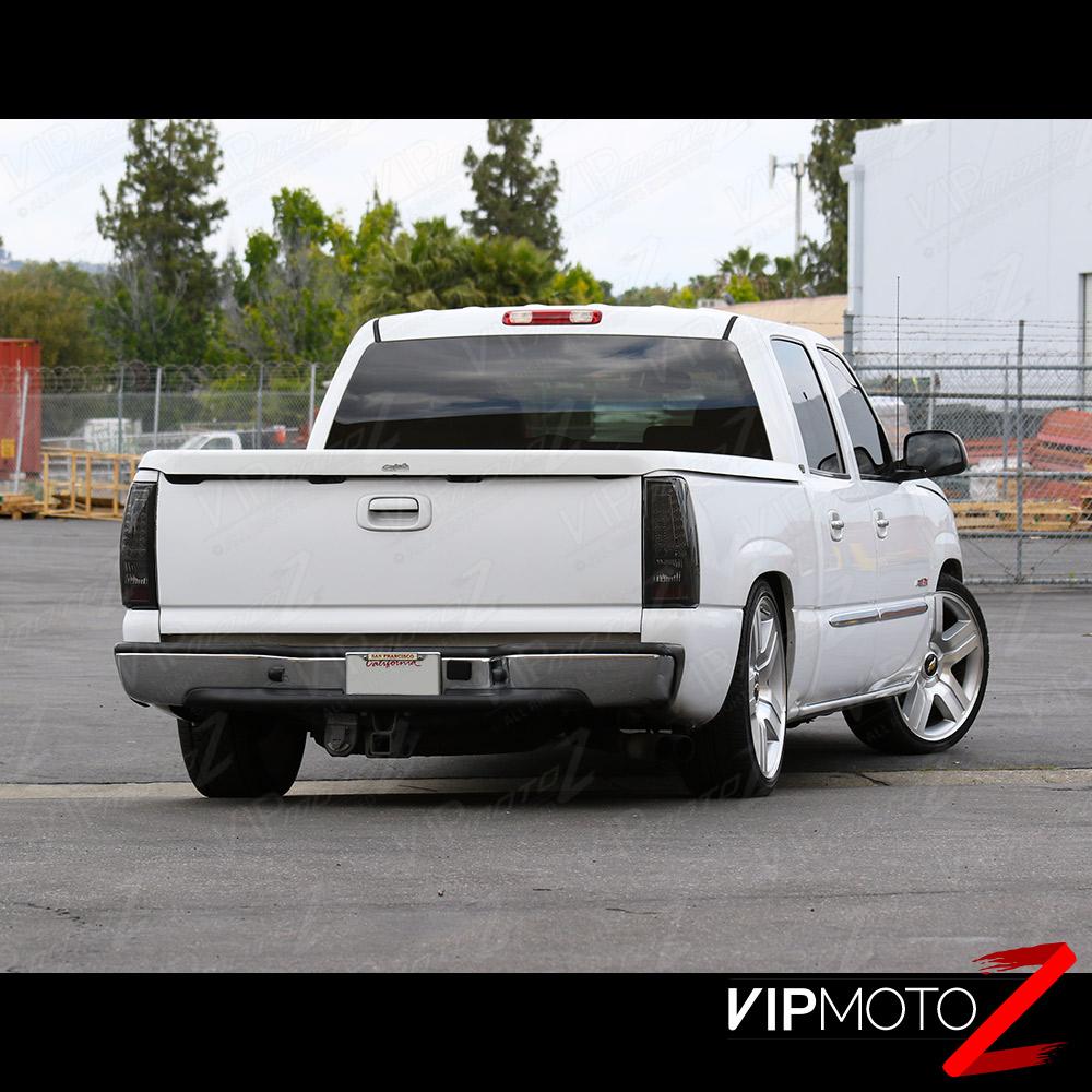 "2002 Chevrolet Silverado 3500 Crew Cab Transmission: 1999-2002 Chevrolet Silverado ""SMOKED"" LED SMD Rear Brake"