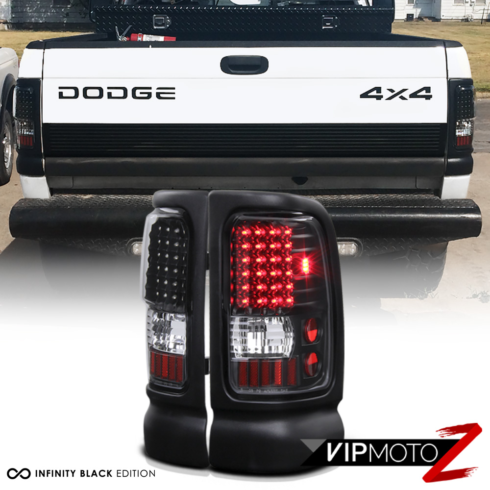 1994-2001 Dodge Ram 1500 [THE BEST] Black LED Taillight