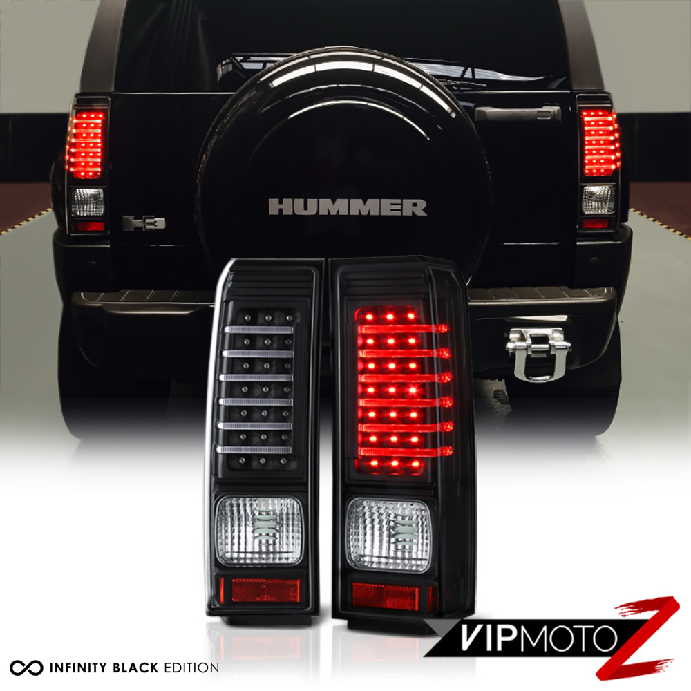 2006 2010 hummer h3 black led neon tube tail light brake signal picture 1 of 12 vanachro Choice Image