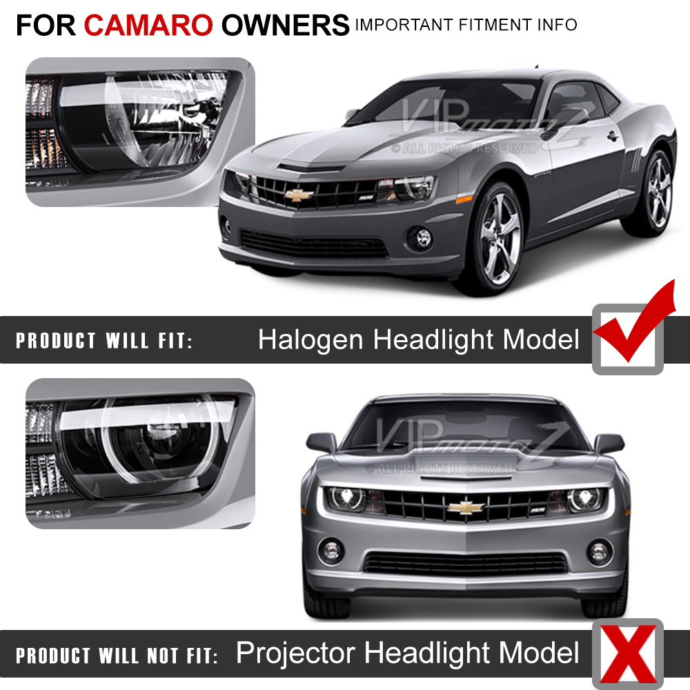 NOT Compatible with Factory Xenon H.I.D Headlight