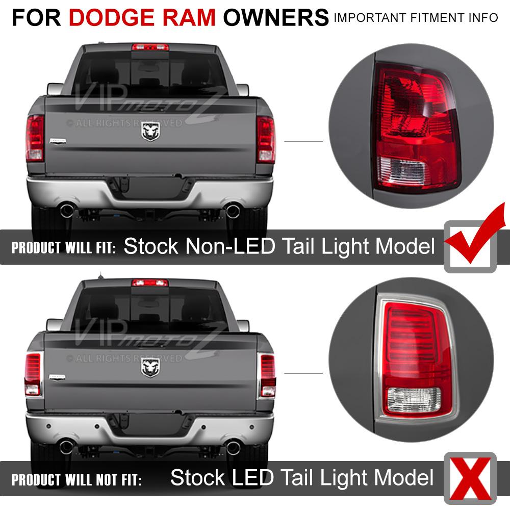 """2009-2017 Dodge Ram 1500 2500 3500 """"MURDER OUT"""" LED Black ..."""