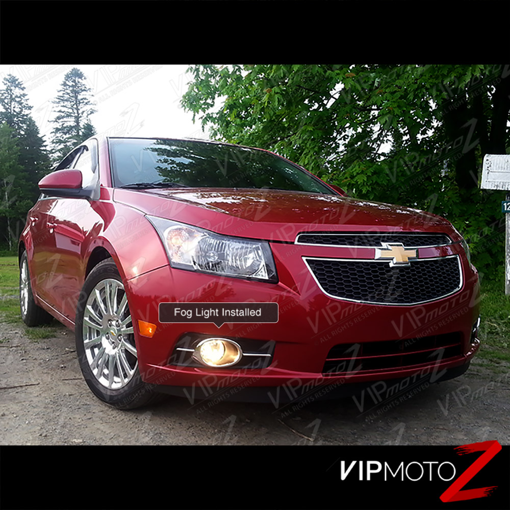 2011-2014 Chevy Cruze Halo+LED DRL Light Strip Projector ...  |2014 Chevy Cruze Lights