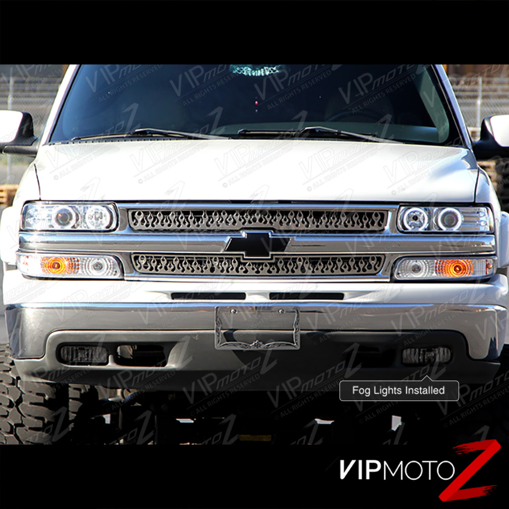 Chevy Suburban Tahoe 2000-2006 Led Bumper Parking