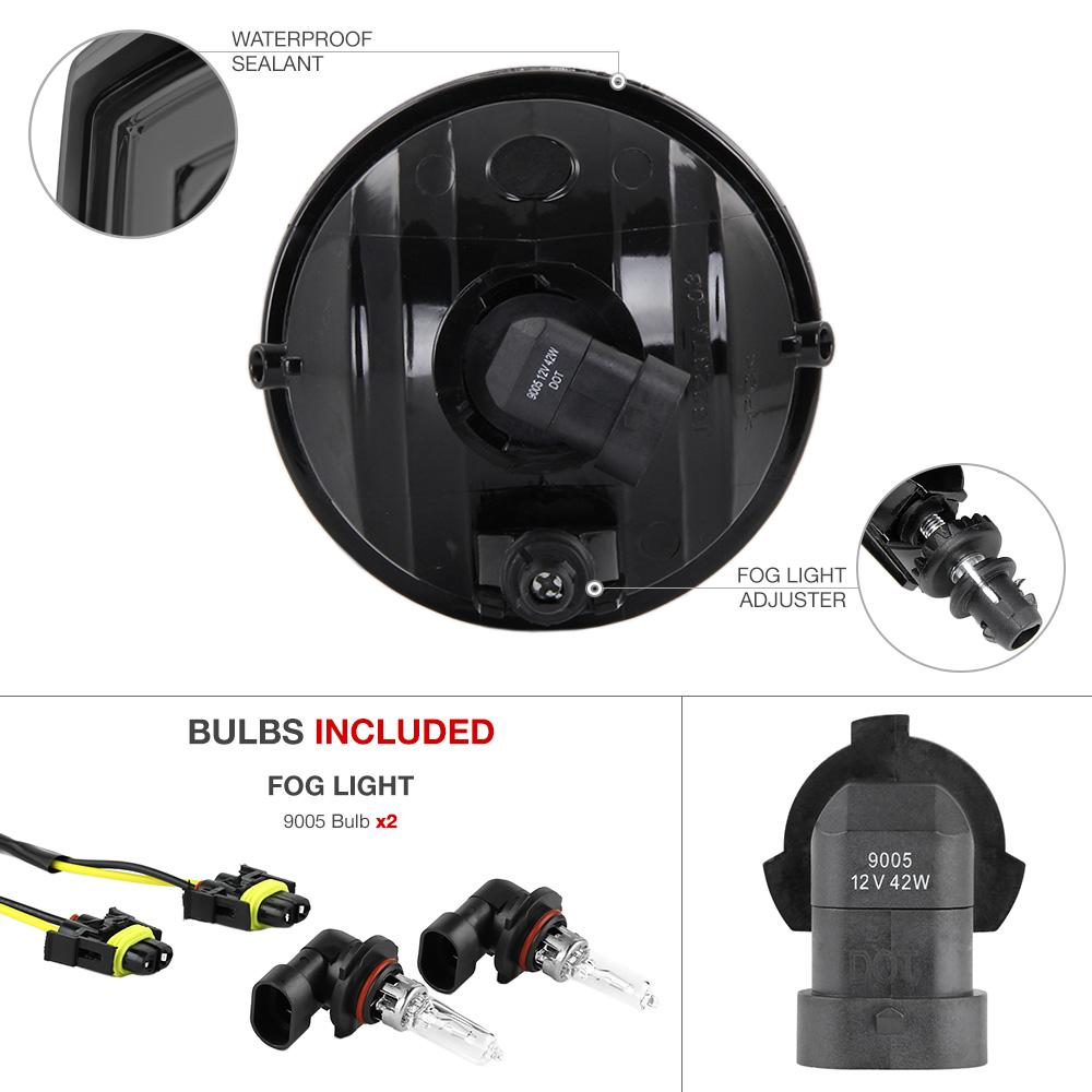 smoke fog light bumper lamp wiring relay switch 05 11. Black Bedroom Furniture Sets. Home Design Ideas