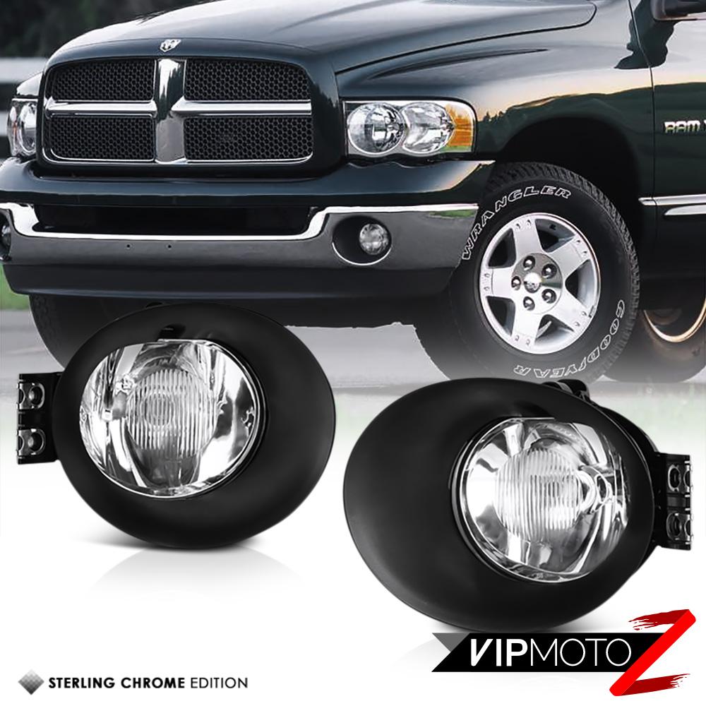 02-08 Dodge Ram 1500 2500 3500 Driving Bumper Fog Lamps