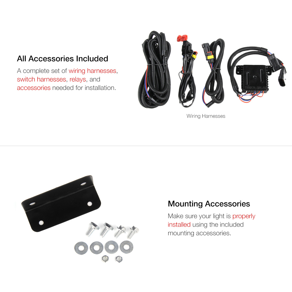 Product 64 Custom 880 Wiring Harness For 09 12 Tundra Only Compatible With Models Without Electric Remote Leveling Adjuster