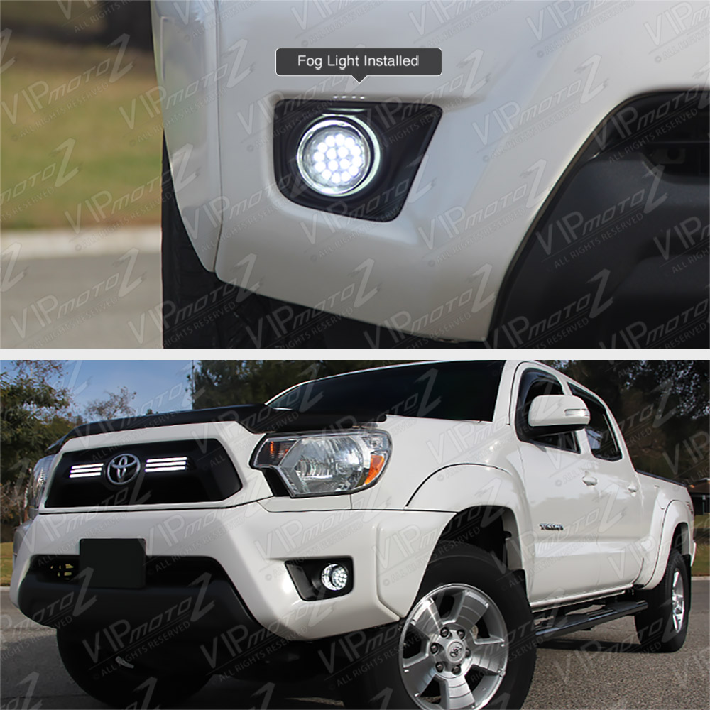 2012-2014 Toyota Tacoma 2WD/4WD/PRE/X-RUNNER Truck White