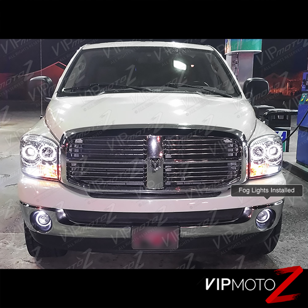 Dodge Ram 1500: 2002-2008 DODGE RAM 1500 Pickup Halo Projector Bumper Lamp