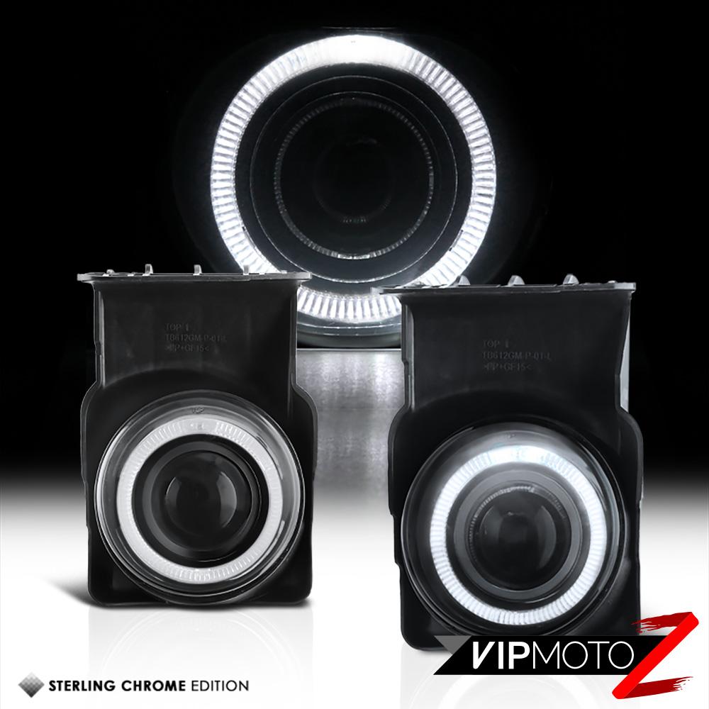 2002 2008 dodge ram 1500 led halo projector fog lights. Black Bedroom Furniture Sets. Home Design Ideas
