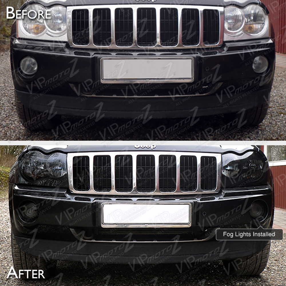 DESIGNED TO FIT. 2005-2007 Jeep Grand Cherokee