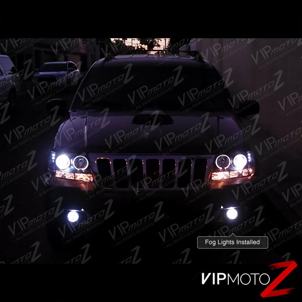 Fl P Jgc Hl Install on 2001 Jeep Grand Cherokee Halo