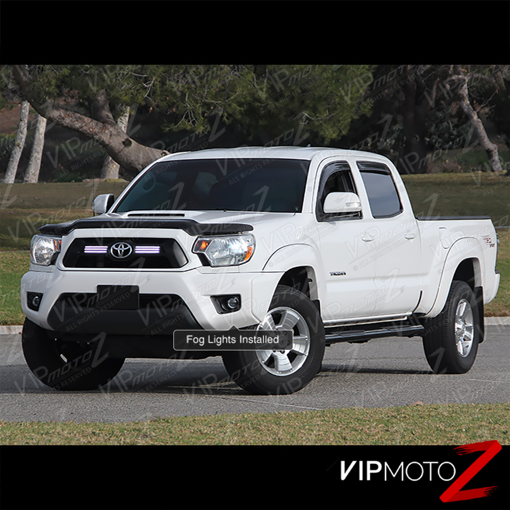 12-15 TACOMA TRD Pickup 2/4WD Projector L+R Smoke Fog