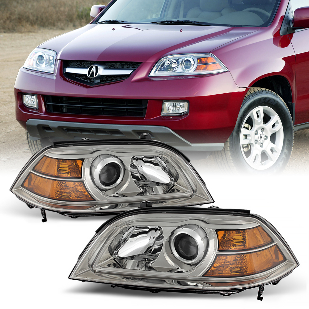 2004-2006 Acura MDX [FACTORY STYLE] Clear Complete