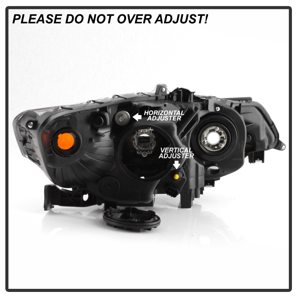 For 09-14 Acura TSX [HID Model] DRIVER SIDE Factory Style