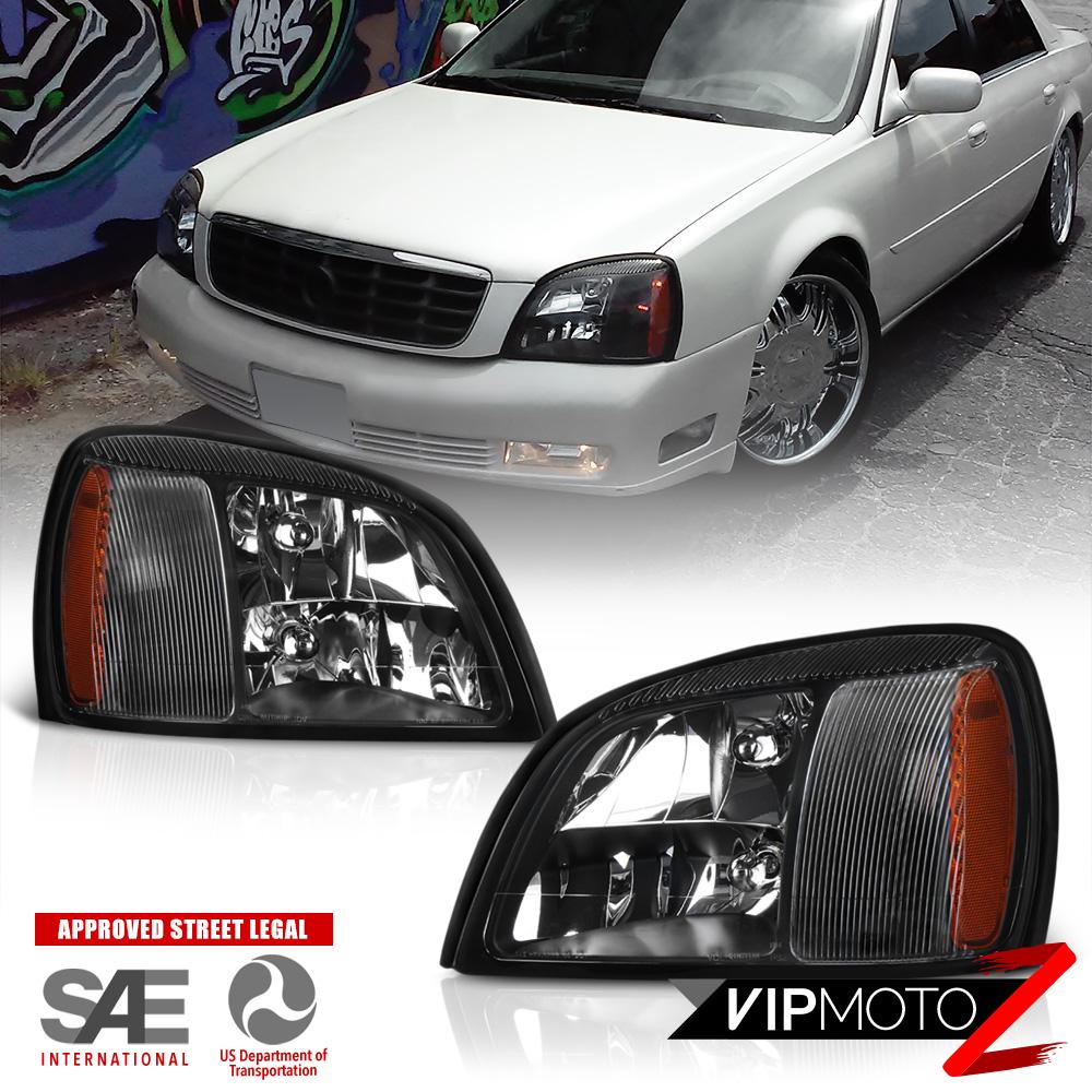 2000 2001 2002 2003 2004 2005 Cadillac DeVille Headlights