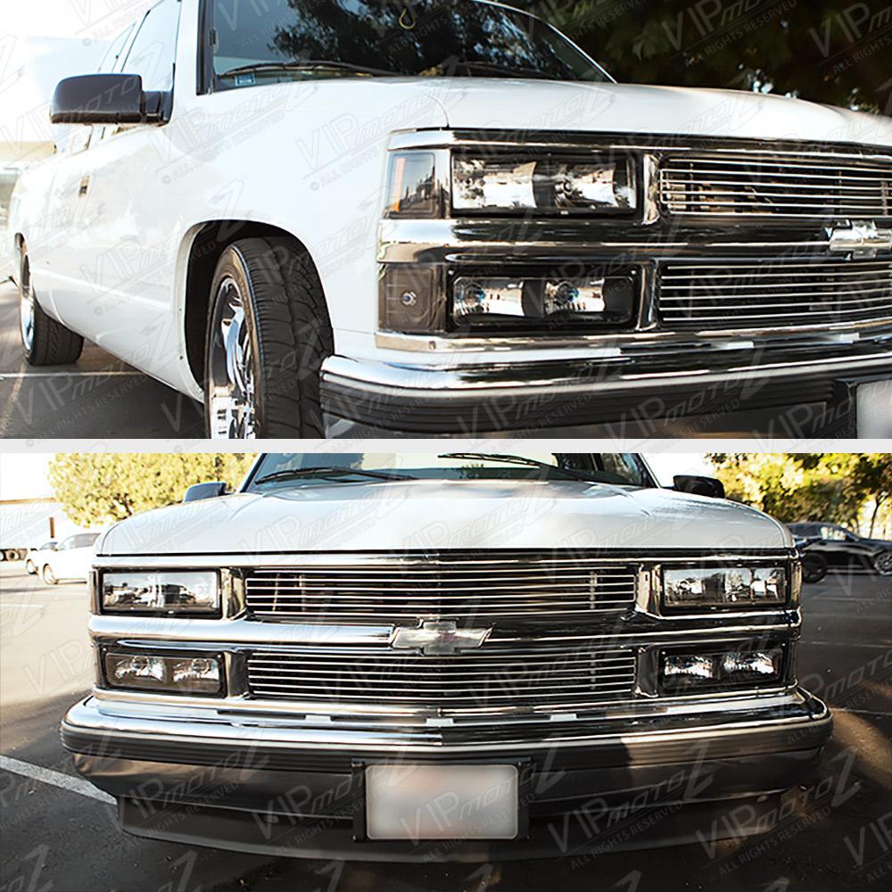 1988-1998 Chevy C10 C/K Suburban Yukon Tahoe Black