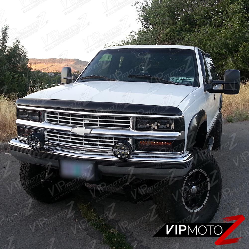 1994-1998 Chevrolet K1500 K2500 K3500 Smoke Headlight
