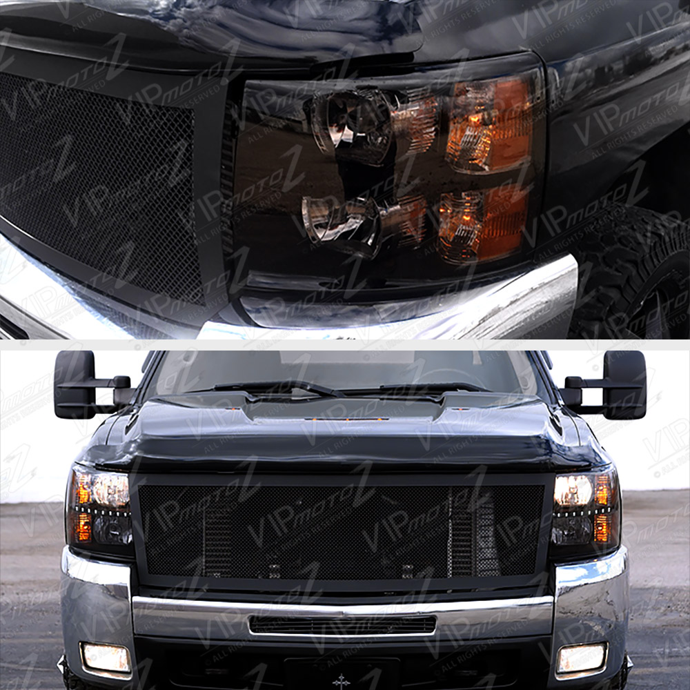 [BUILT-IN LED DRL] 2007-2013 Chevy Silverado 1500 2500HD
