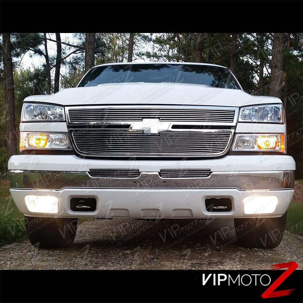 2003-2006 Chevy Silverado 1500 2500 3500 Chrome Bumper