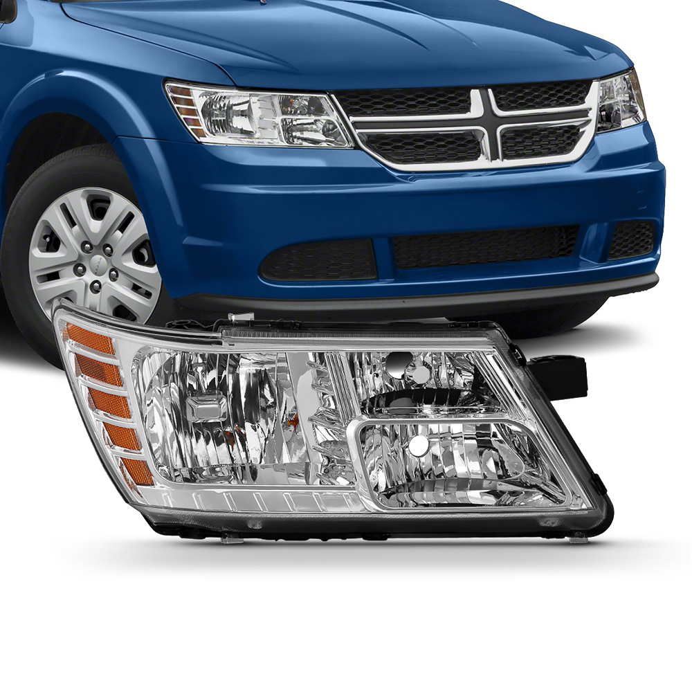 For 09-18 Dodge Journey Replacement Headlight Lamp Right