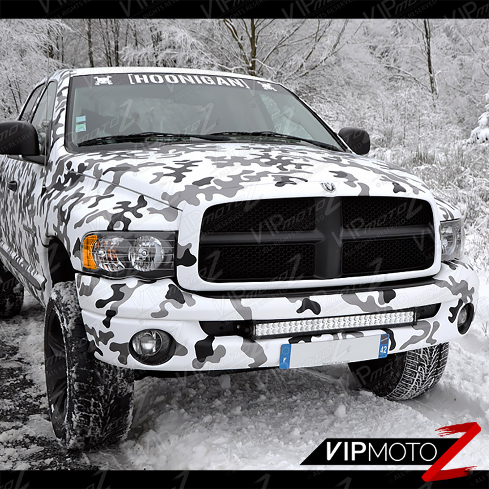 02-05 Dodge Ram Inky Black Headlights SMD Tail Lights