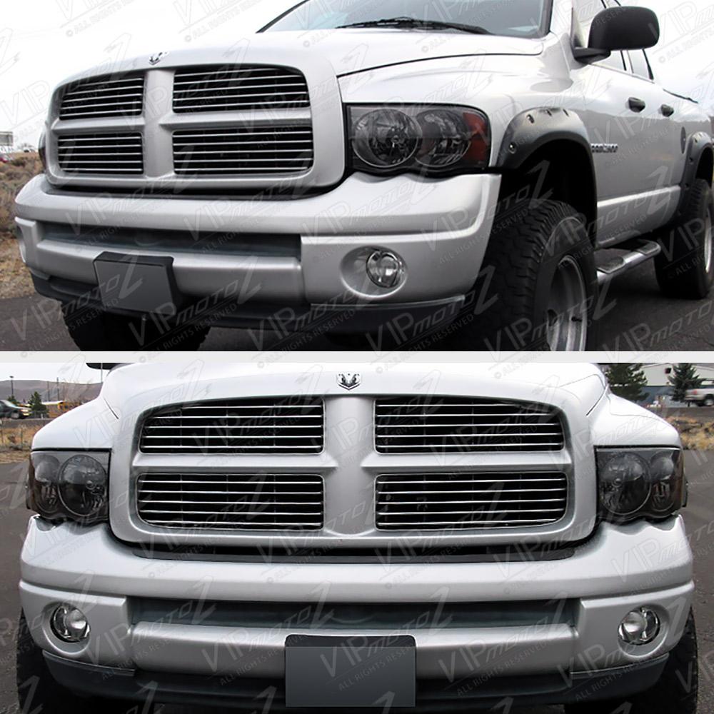 Titanium Smoke 02-05 Dodge Ram 1500 Truck New Pair