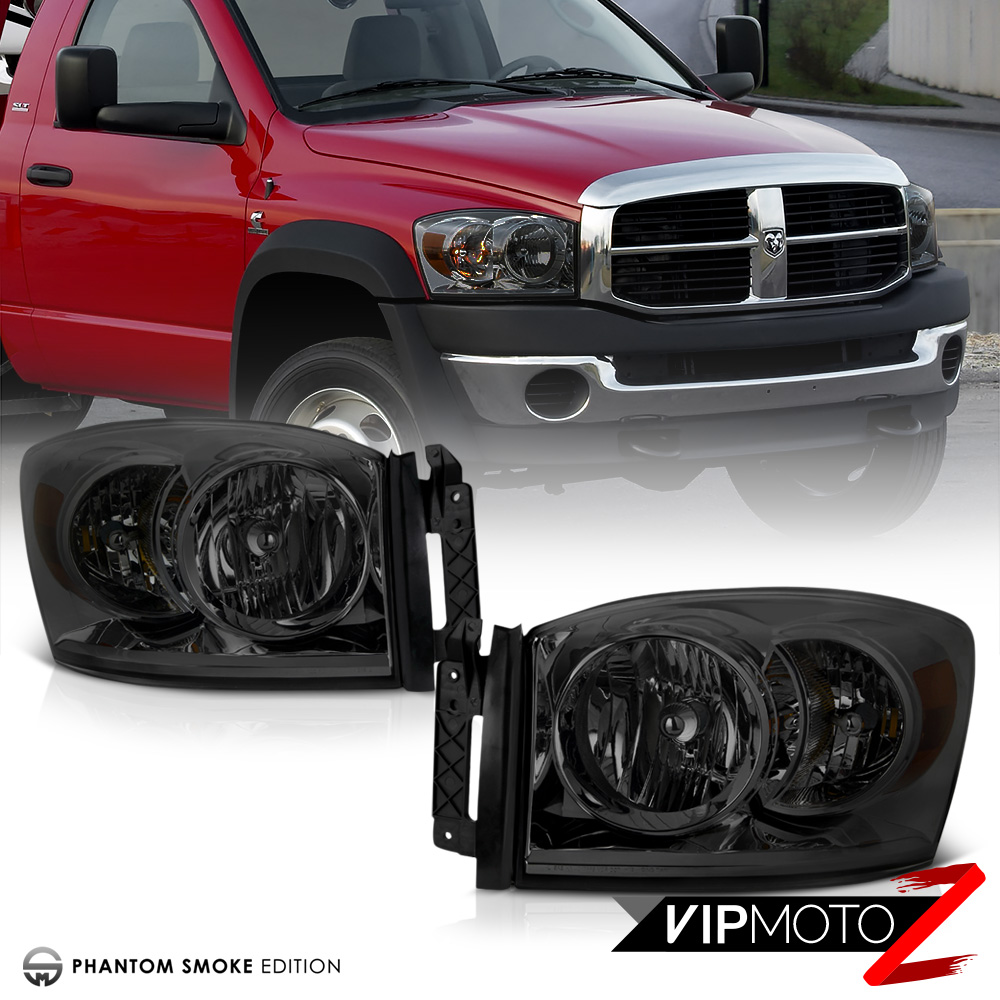 [Darkest Smoke] Replacement Headlamps Third Brake LED 2007