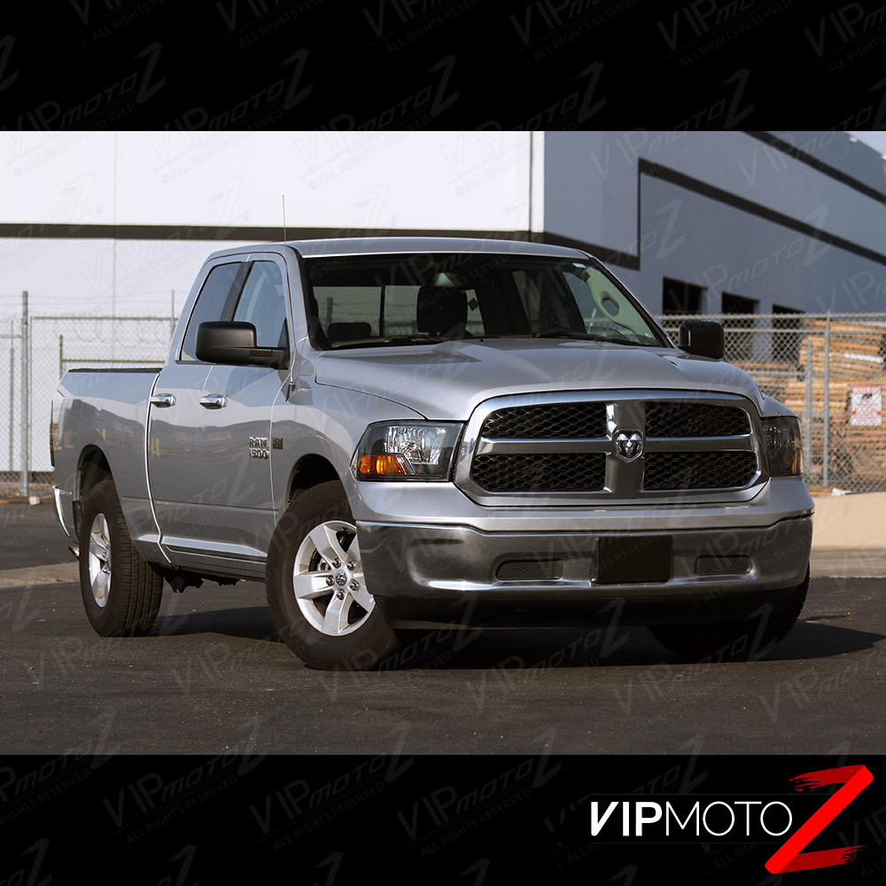2009 2017 dodge ram 1500 2500 3500 black factory style. Black Bedroom Furniture Sets. Home Design Ideas