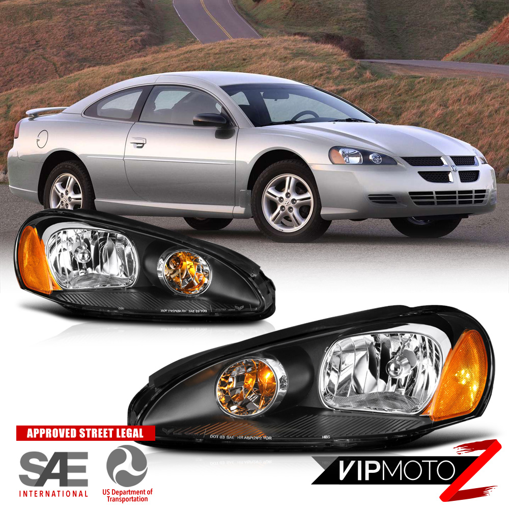 2004 dodge stratus rt coupe headlights