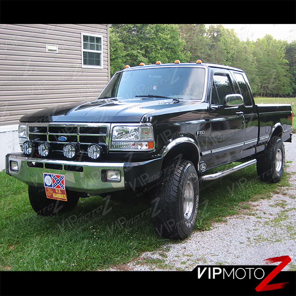 Hd Jh Fb Set Am C Install on 1994 Ford F 150 Lightning Custom