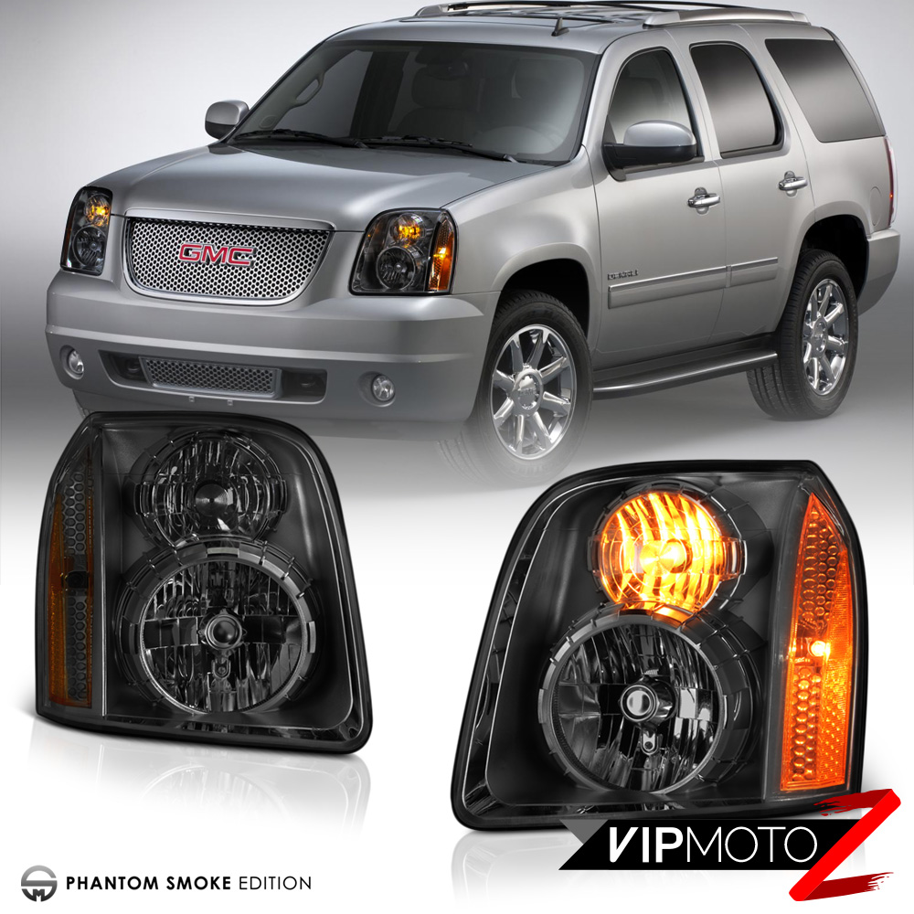 2007-2014 GMC Yukon XL 1500 2500 Smoke LEFT RIGHT