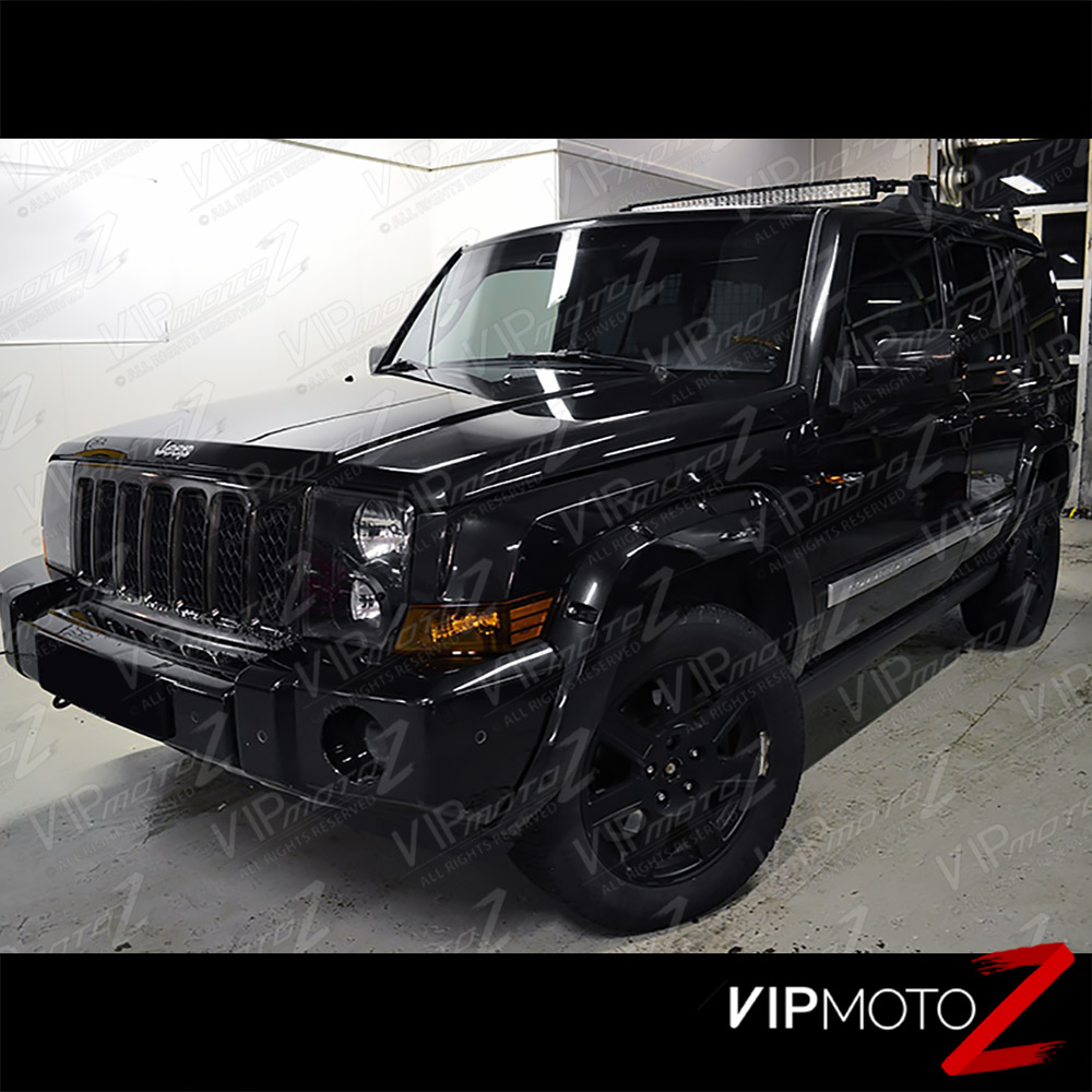 2006-2010 jeep commander suv black amber front left right