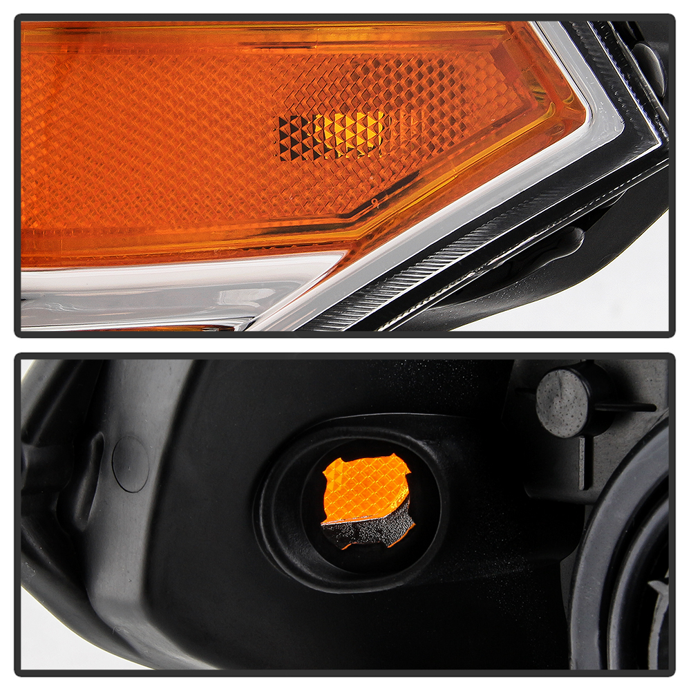 For 09-18 Nissan Frontier Headlight LH+RH Side Replacement Driving Signal Lamp