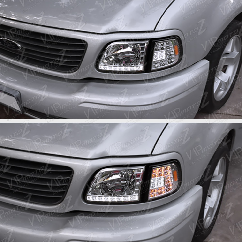 1997-2003 Ford F150 Expedition Chrome [3RD GEN] LED SMD ...