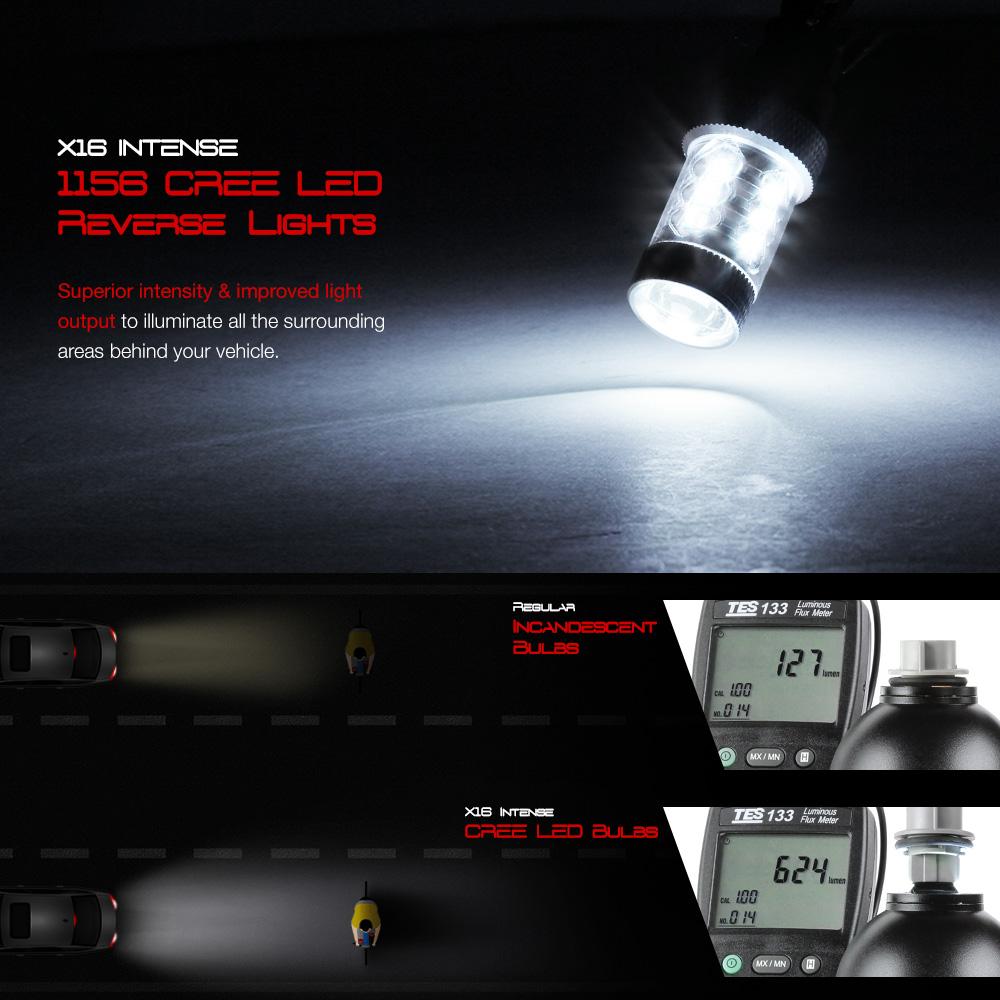 [CREE LED REVERSE] Taillight LED STRIP Brake Pair 2002