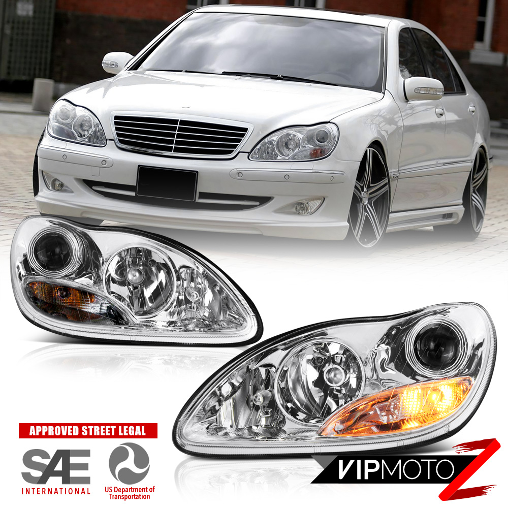 2000 2006 mercedes benz w220 s430 s500 projector for Mercedes benz s430 headlight replacement