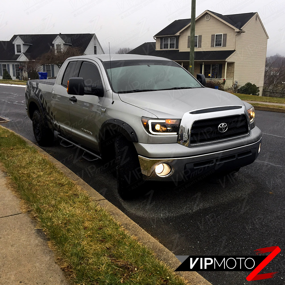 for 2009 2013 owner must disable electronic headlight aim adjuster function if equipped designed to fit 2007 2013 toyota tundra
