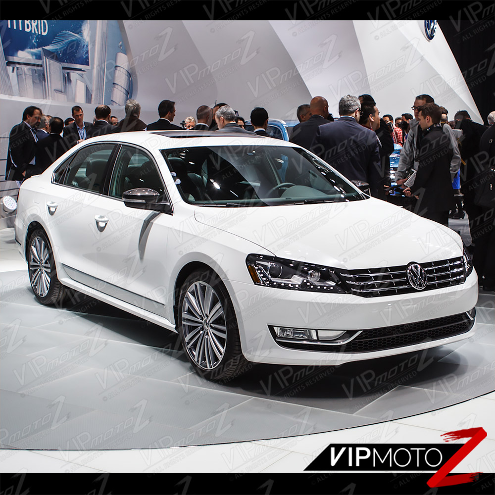 2015 Volkswagen Passat Tdi: 2012-2015 Volkswagen VW Passat B7 [E-CODE NMS STYLE] Black