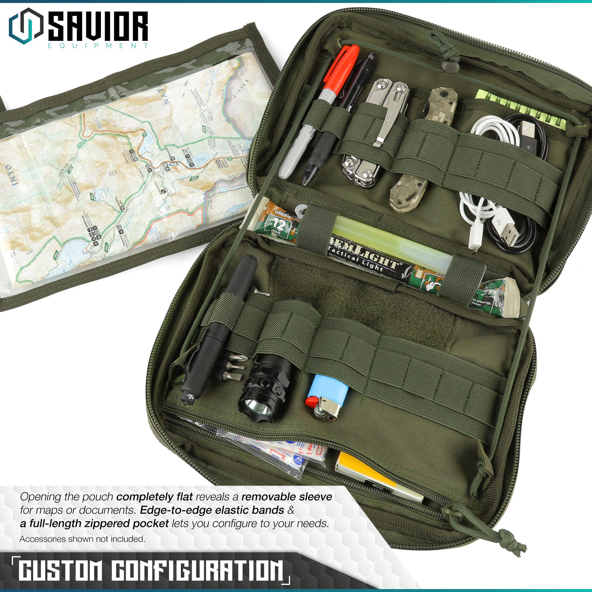 SAVIOR-Laser-Cut-MOLLE-Admin-Utility-EDC-Pouch-Tactical-Outdoor-Survival-Bag thumbnail 22