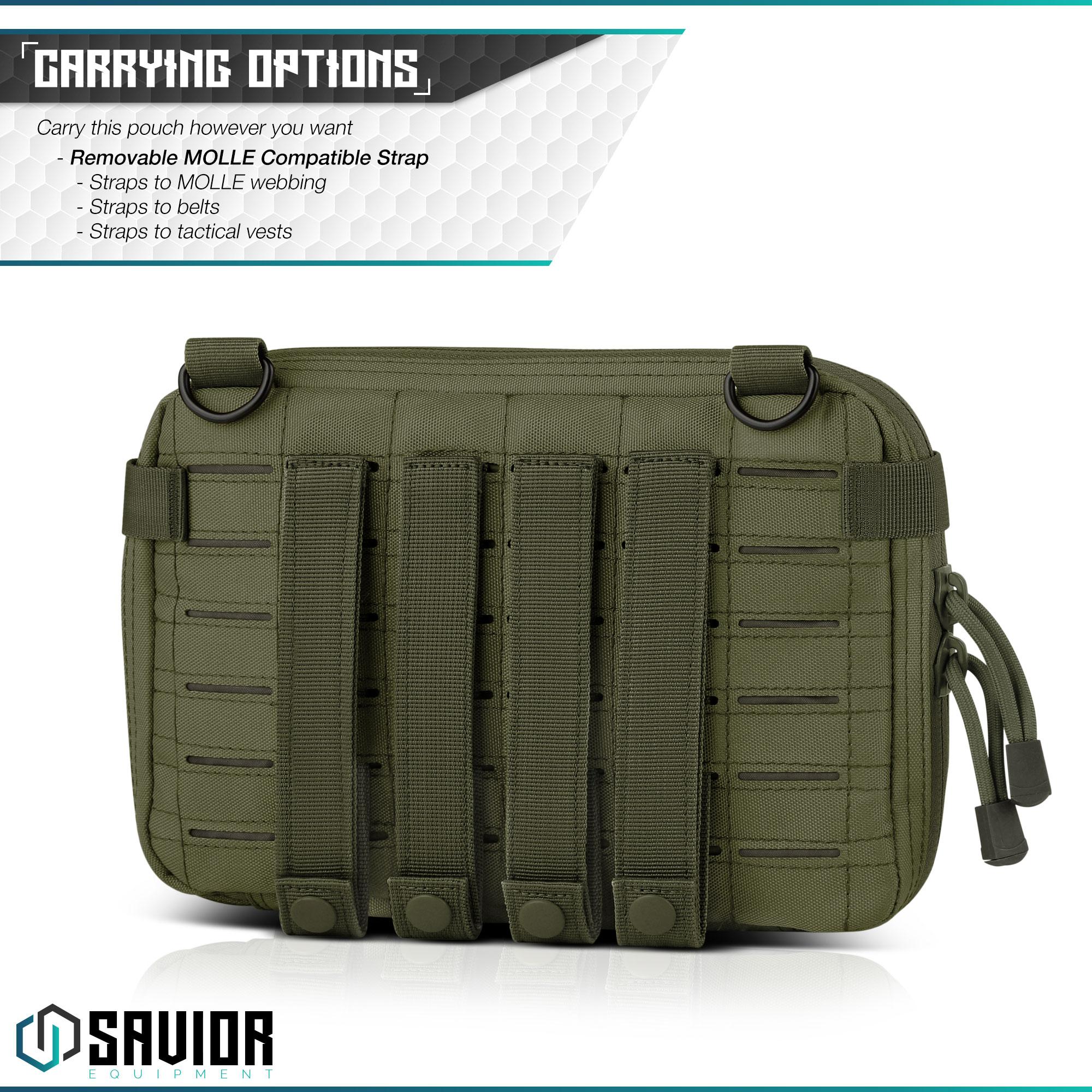 SAVIOR-Laser-Cut-MOLLE-Admin-Utility-EDC-Pouch-Tactical-Outdoor-Survival-Bag thumbnail 24